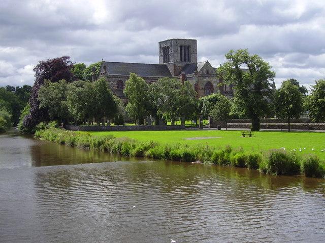 St. Mary's Church, Haddington.
