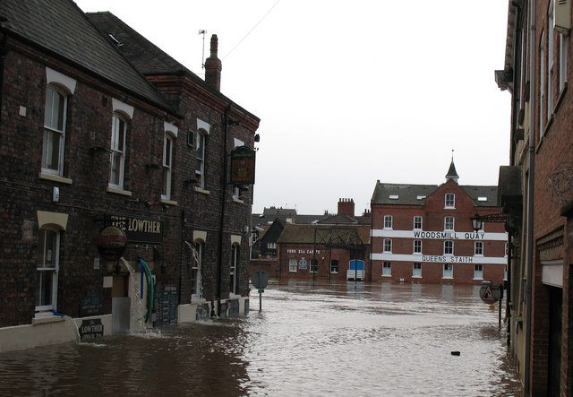 Flood in Cumberland Street