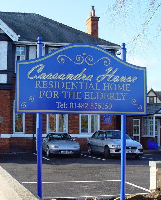 Cassandra House Signage