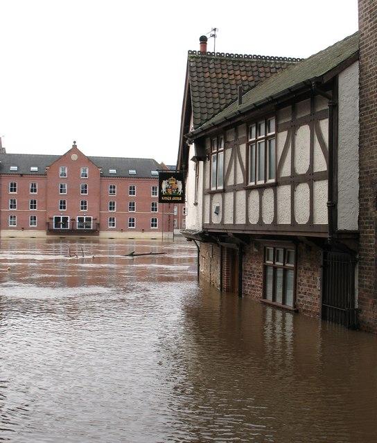 Flood in King Street