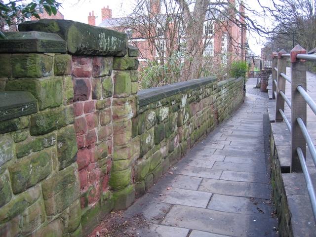 City walls and blocked doorway