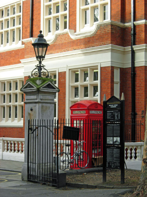 Gate to Mount Street Gardens