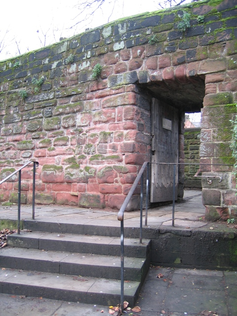 The Kaleyards Gate from outside the city walls