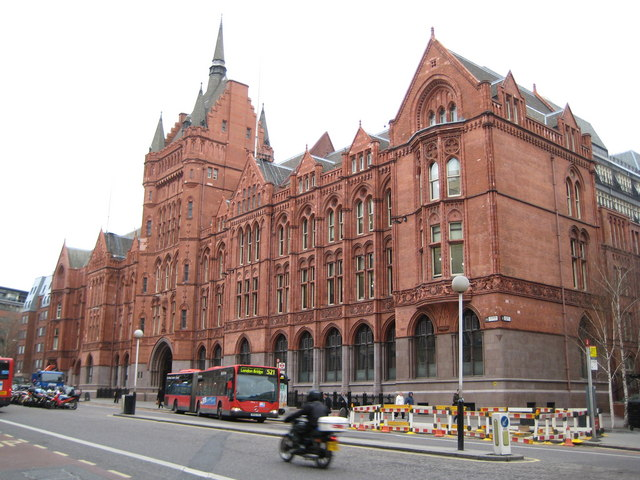 Holborn: Prudential Assurance building, 142 Holborn Bars, EC1