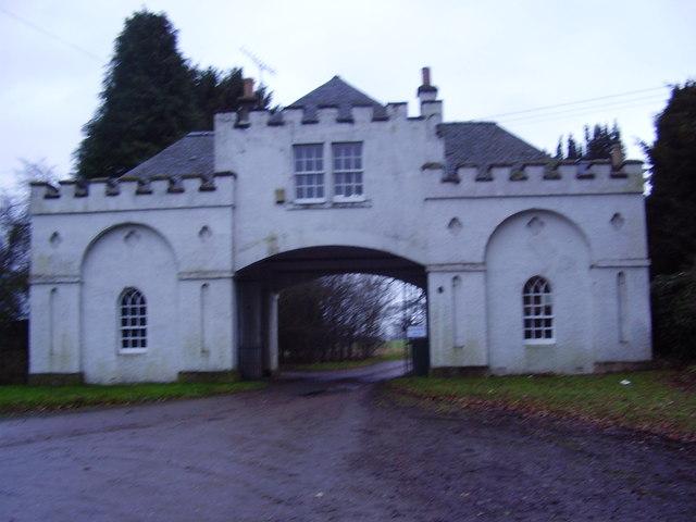Gateway to Salton Hall