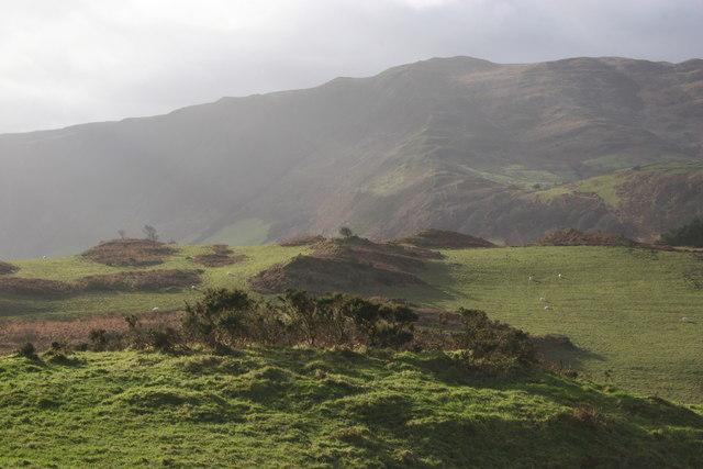 South from Mynydd Bach