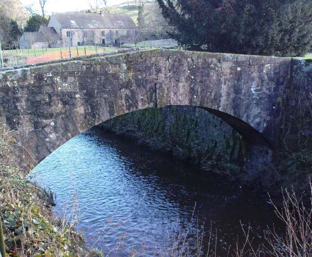 Leat Bridge, Fountains Hall