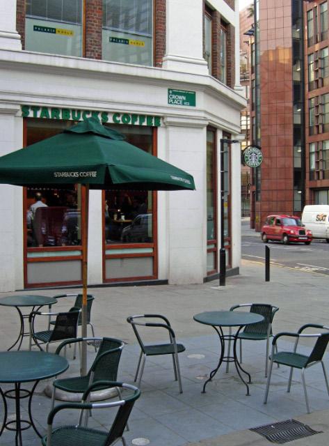 Starbucks, Sun Street
