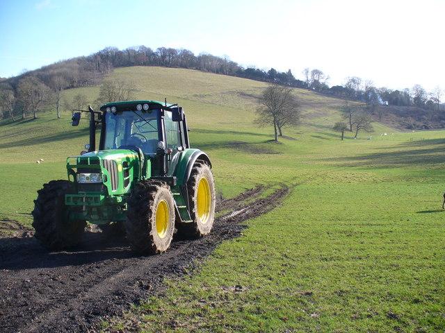 Tractor at Colekitchen Farm
