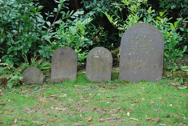 Beddau Cŵn Plas Glyn y Weddw Dogs' Graves
