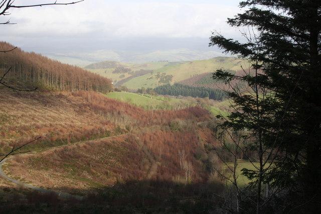 North from Rhiw Goch