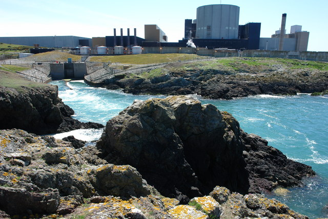 Outfall from Wylfa Power Station