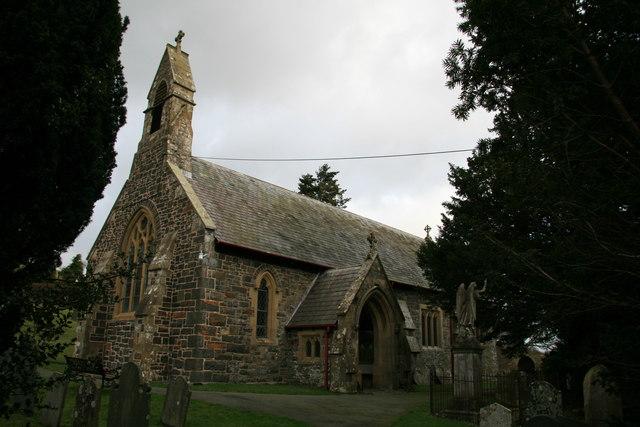 All Saints Parish Church, Mochdre