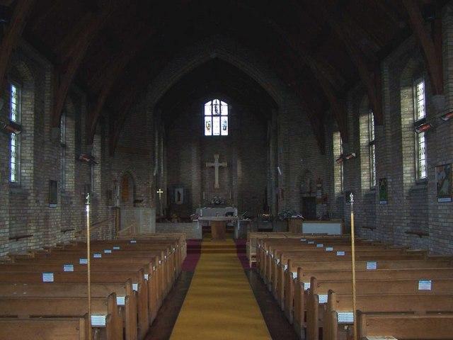 Interior, St. John's Church, Essington