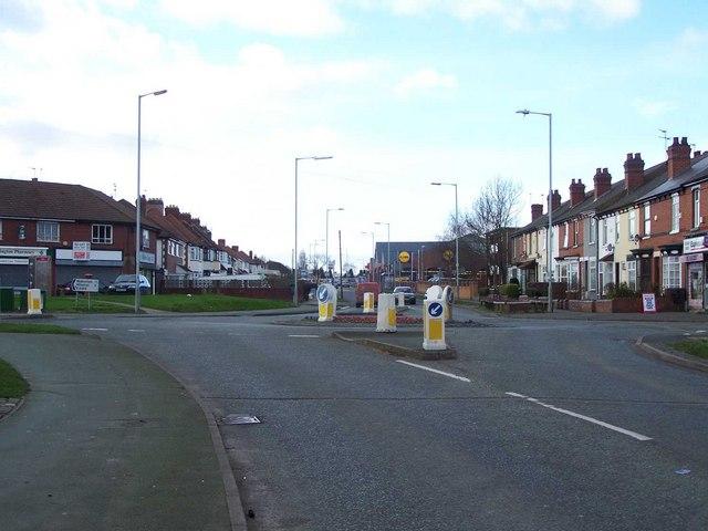 Roundabout on Blackhalve Lane
