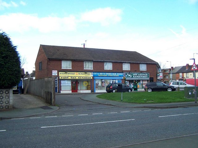 Shops on Long Knowle Lane