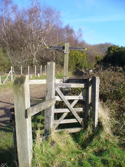 Kissing Gate on Hackhurst Downs