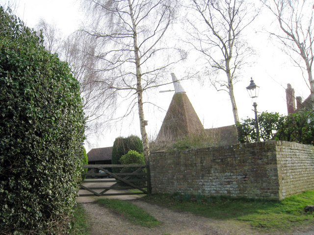 Oast House on Mill Lane, Peasmarsh, East Sussex