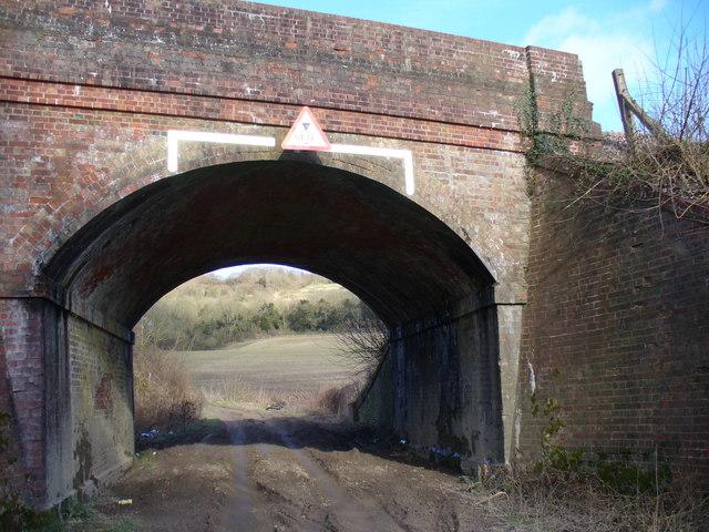 Railway Bridge Near Hackhurst Farm