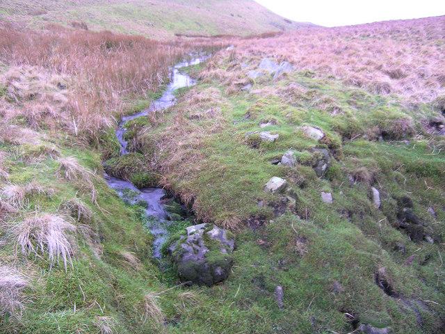 Stream draining Black Pasture
