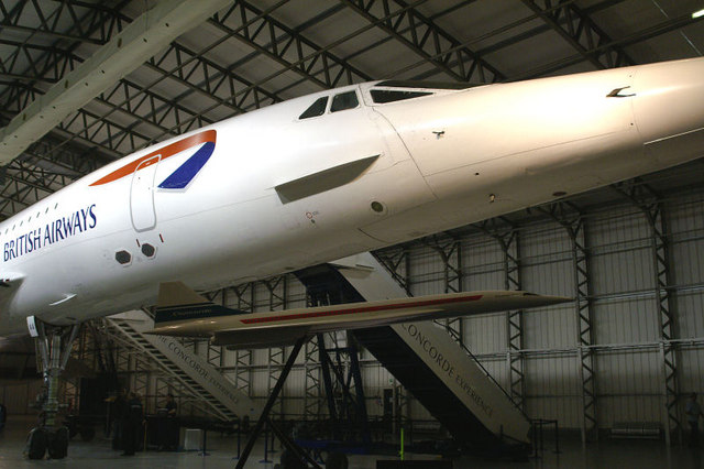 Two Concordes at the Museum of Flight, East Fortune