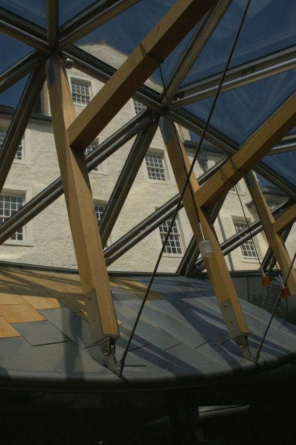 Old and new, Scottish Parliament, Edinburgh
