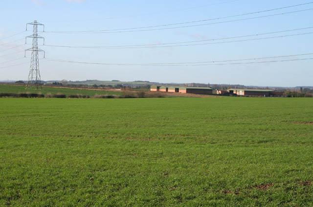 Barn Farm from the south east