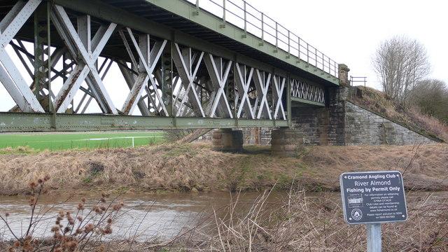 Railway Bridge over River Almond