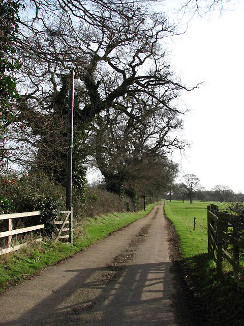 Driveway to Park Farm