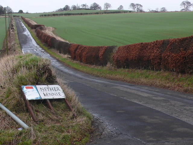 Road from Turnhouse to Cammo
