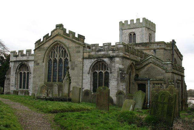 Brafferton church - east end