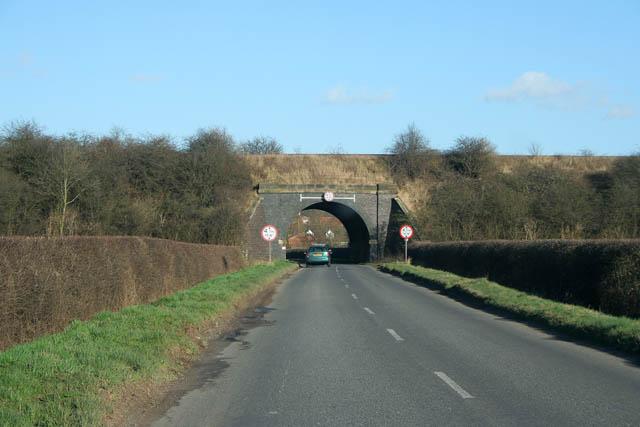 Bridge 28 on the Nottingham/Melton line