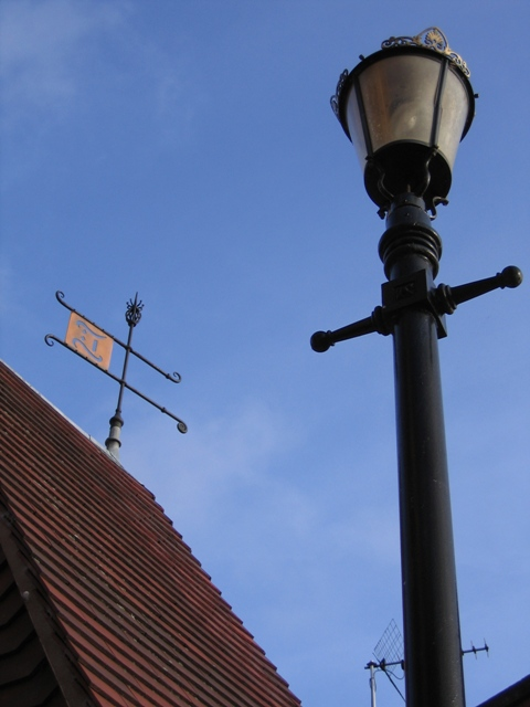 Weathervane on Thimbleby's Tower