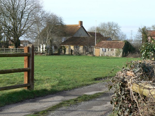 Rose Farm and camping field, Westhay