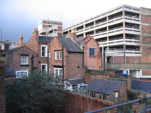 Newgate Street properties and the Mall car park