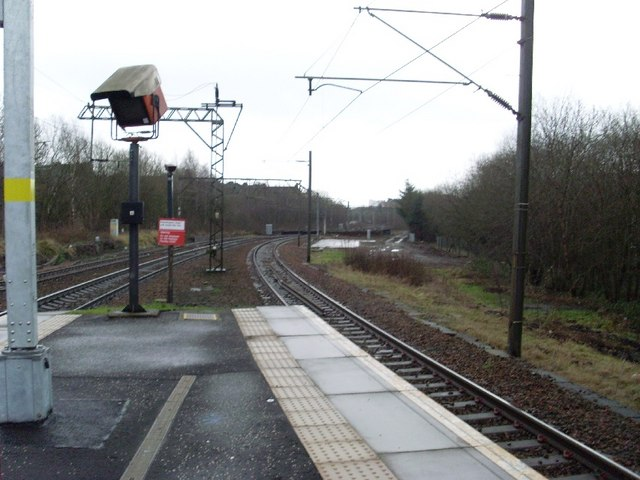 Southbound to Partick