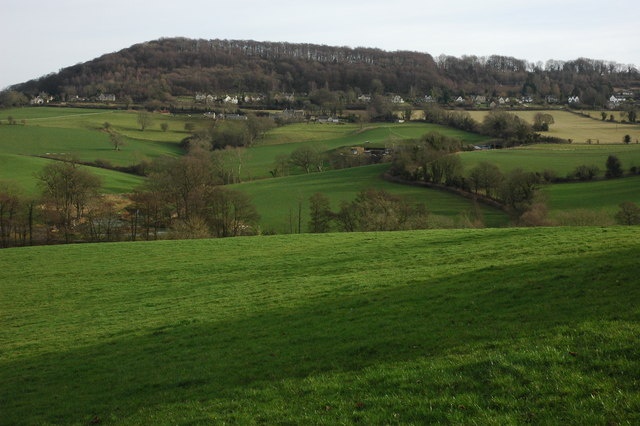 Valley to the east of Painswick