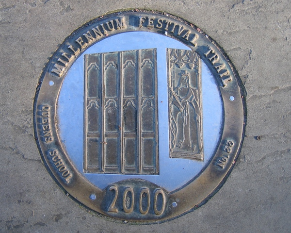 Millennium Festival Trail: Queen's School - No 33