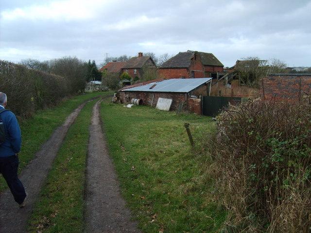 Path to Trescott Grange