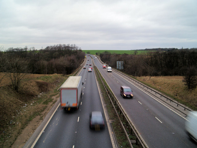A1 main road going North