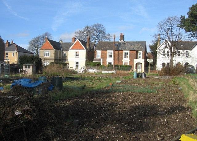 Burgess Road housing & allotments