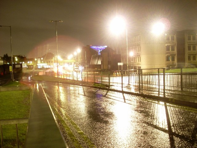 Kilbowie Road, Clydebank town centre