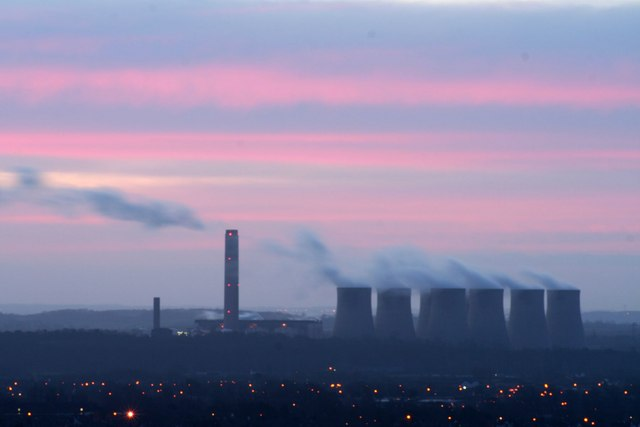 Early morning over Ratcliffe power station