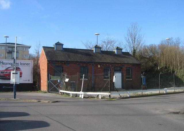 Disused building - Station Car Park 2 (North Yard)