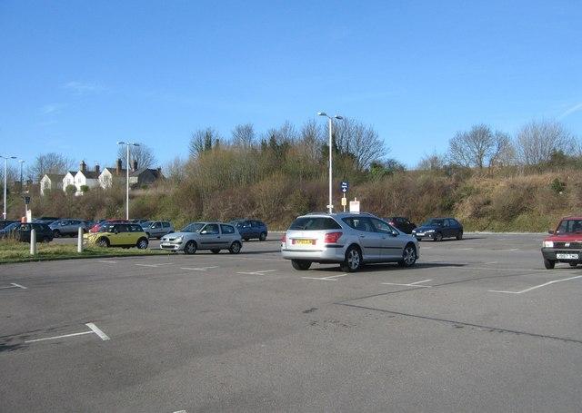 North Yard car park - Basingstoke railway station