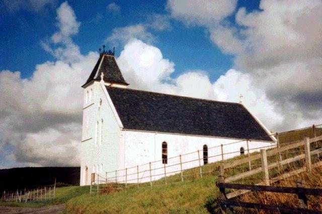 Uig Free church/Eaglais Shaor Uige