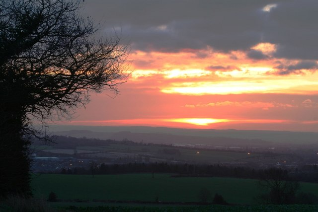 Sunrise over Stapleford
