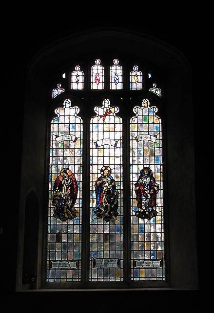 St Andrew's Church  - stained glass window