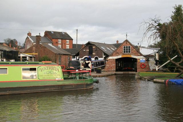 Boat repair yard, Stone.