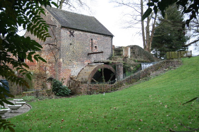 Top or Splashy Mill, Moddershall
